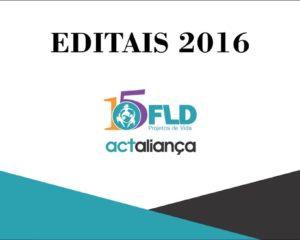 FLD abre editais na área de Diaconia