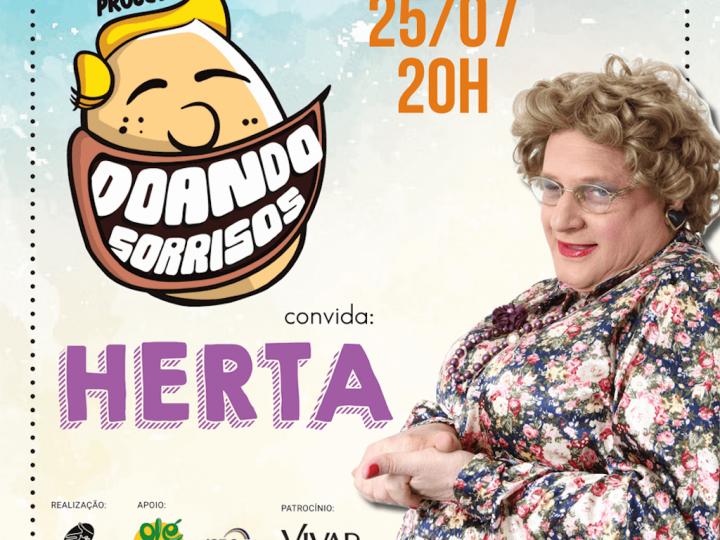 Herta Klein é atração do projeto Doando Sorrisos
