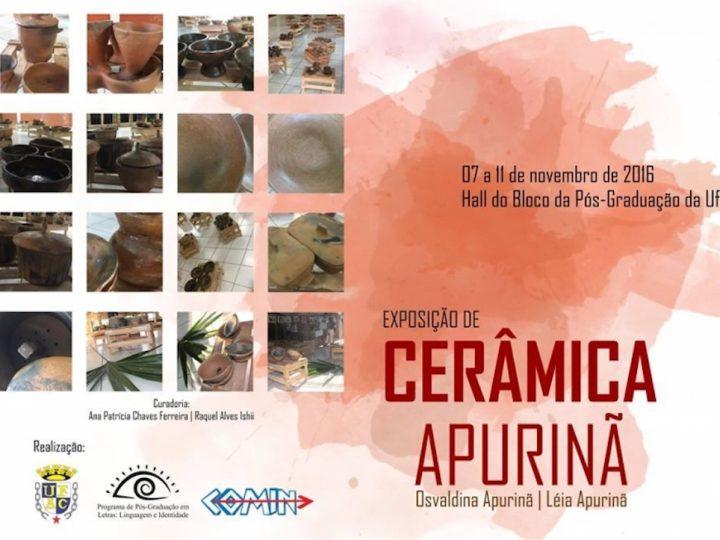 Exposição de cerâmica Apurinã no Acre