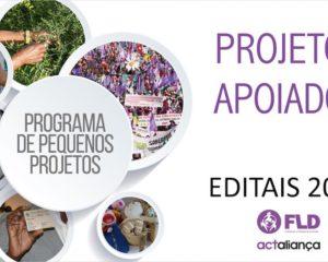 Projetos Apoiados FLD Editais/2017