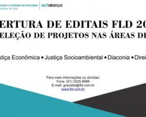 FLD abre editais e está recebendo projetos em quatro áreas prioritárias