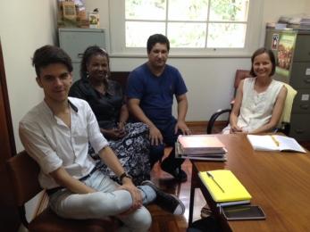 Comin recebe visita de integrantes da Semis – São Leopoldo (RS)