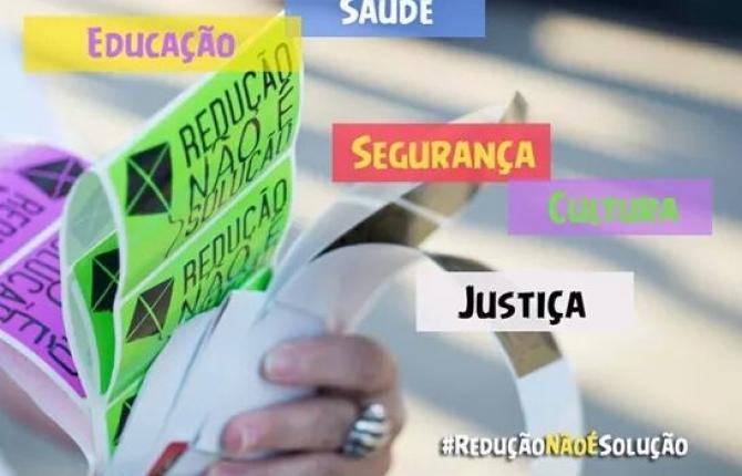 Frente Nacional contra Redução da Maioridade Legal propõe ação junto a deputadas e deputados