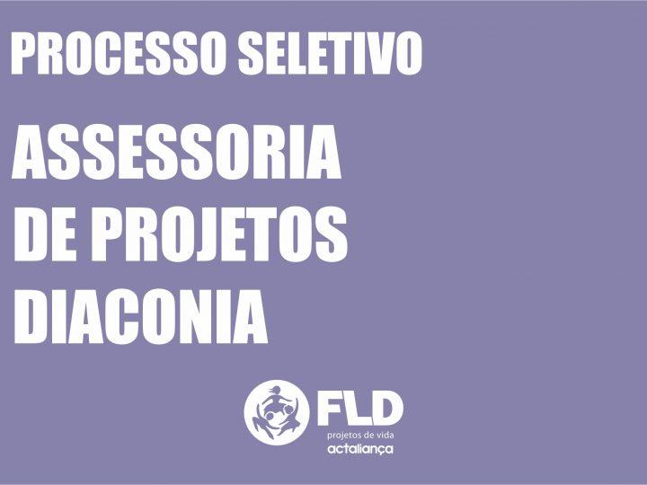 FLD abre edital para contratação na área de Assessoria de Projetos – Diaconia