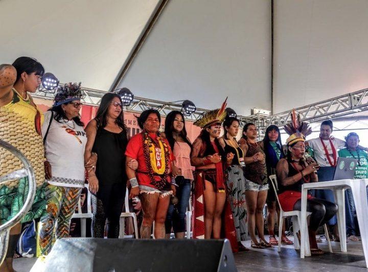 Marcha das Mulheres Indígenas reafirma a luta pela defesa do território