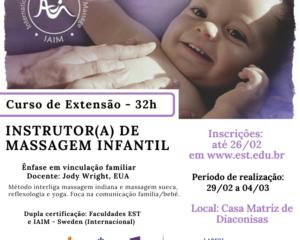 Curso de Extensão em Instrutor(a) de Massagem Infantil