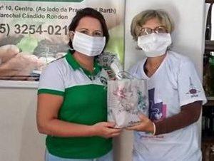 Fabricação solidária de máscaras