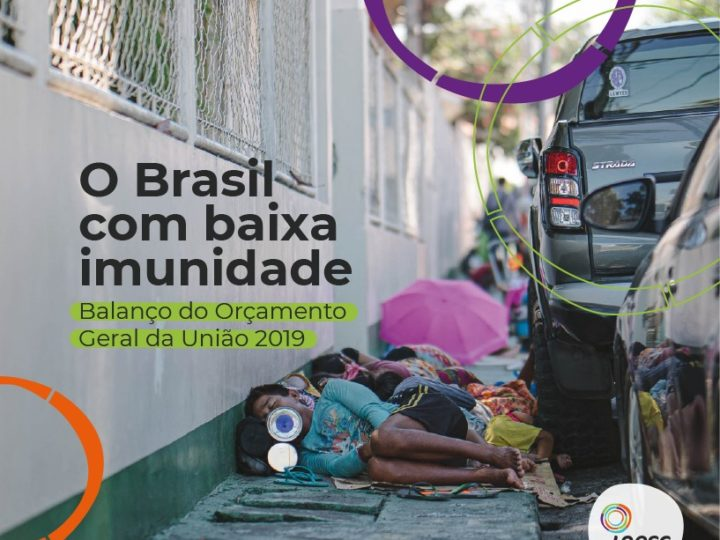 Estudo do INESC mostra que teto de gastos deixou o Brasil sem imunidade para enfrentar a pandemia