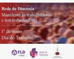 Manifesto às trabalhadoras e aos trabalhadores – 1º de maio, dia do trabalho