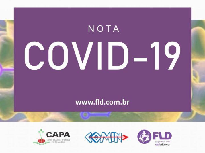 NOTA SOBRE COVID-19
